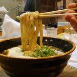 うどん職人さぬき麺之介 - カレーうどんリフトアップ