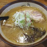 麺屋 つくし - 味噌ラーメン(800円)