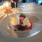 トミガヤ テラス - スフレ・タイプのチーズケーキ