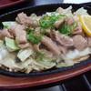 かまど - 料理写真:ホルモン鉄板焼