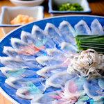 三浦屋 - 料理写真:最上とらふぐさし