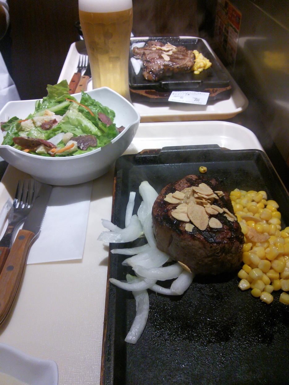 いきなりステーキ セブンパークアリオ柏店