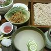 越後叶家 - 料理写真:夏限定の鱧せいろそば定食