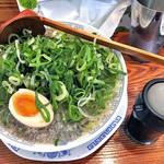 雷電 - 料理写真:京都ネギバカ醤油らーめん(2016年7月)