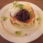 モグモグ - 十勝小豆の和風パンケーキ