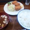 グリル まどか - 料理写真:カニクリーム定食