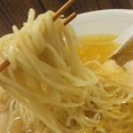 54052110 - 麺は細麺