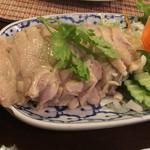 チャオタイ - タイ風鶏もも肉の生姜蒸し