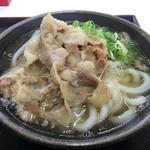 こがね製麺所 - 肉うどん(*´д`*)420円