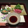 季節料理 かわの - 料理写真:尾崎牛コース(お昼献立)の小鉢と小物