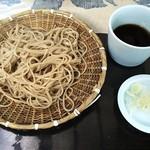東間 - ざる蕎麦
