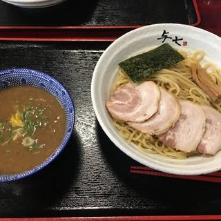 与七 - 料理写真:つけ麺