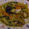 芳香園 - 料理写真:五目焼きそば