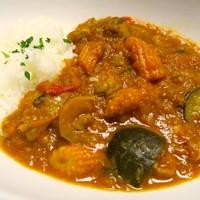 aircafe特製 野菜たっぷりスパイシーチキンカレー