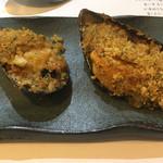 54090232 - ムール貝のオーブン焼き