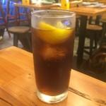 タイストリートフード - センソムウイスキーコーラ割