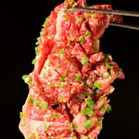妥協なし!!極上の赤身肉もご堪能あれ。