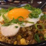 鉄板焼 やっぱ。渋谷肉横丁 - ガーリックライス