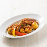 モスクラシック - 新メニュー ごろごろ野菜とソーセージのラタトゥイユ