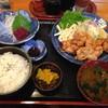 とりよし - 料理写真:から揚げ定食