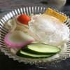 高柳食堂 - 料理写真:冷やしうどん(*´д`*)350円