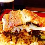 美味鰻彩 うな次郎 - 料理写真:ご飯とタレが絶妙‼︎こちらの鰻とバッチグー(笑)