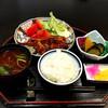 茂波 - 料理写真:800円の日替わりランチ。今日はトンテキでした。