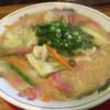 久留米ラーメン 丸久 - 料理写真:野菜ラーメン=650円