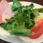 ピッツェリアバール ドォーロ - ランチセットのサラダ