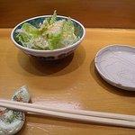 鮨 さるたひこ - サラダ