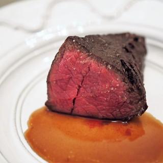 ボニュ - 料理写真:ボニュ焼き ~天然記念物 見島未経産牛~