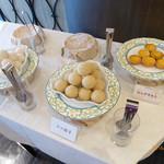 トゥーランドット - ゴマ団子などのデザート