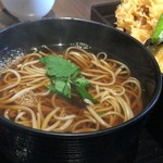長寿庵 渡邊 - お蕎麦、プラスご飯付