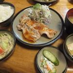 とんかつ 高座 - 生姜焼き定食1,050円