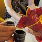 ゆるり 中華食堂 癒食同源 - 紹興酒 古越龍山 善醸仕込み