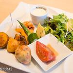 ピッツァ サン フェリーチェ - 前菜4種盛り合わせ