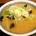 蔵亭  - 味噌ラーメン(コッテリ・麺おまかせ!)