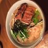 暖だん - 料理写真:ほうじ茶で炊いたご飯に熱い厚い鰻をのせてキンキンに冷えたおでん出汁をかけて食べていただきます。