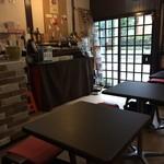 K's cafe  - 和風な店内