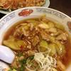 五郎八 - 料理写真:五八麺 と 餃子 2016