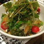 えんや - えんやの野菜サラダ