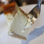 こーひー屋仁助 - チーズケーキ