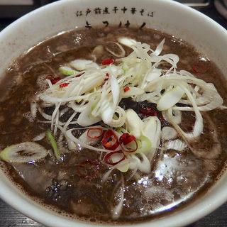 江戸前煮干中華そば きみはん - 料理写真:【8月末まで限定】NINJA BLACK(850円)