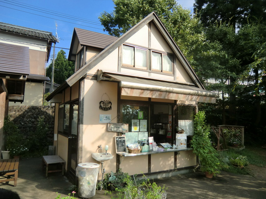 平泉寺のソフトクリーム屋さん