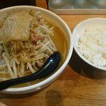味噌麺処 楓 - 味噌ラーメン、ライス