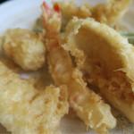 天ぷら 大吉 - 天ぷらです 6種