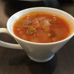 ビストロ ル・セール - スープはミネストローネ