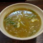 百福 - カレーうどん810円(税込)