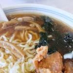 中華料理 来集軒 - メンマ、ワカメ