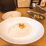 東京カレー屋名店会 - 2点セット ライス並(ビーフカレー、キーマカレー) 温玉トッピング